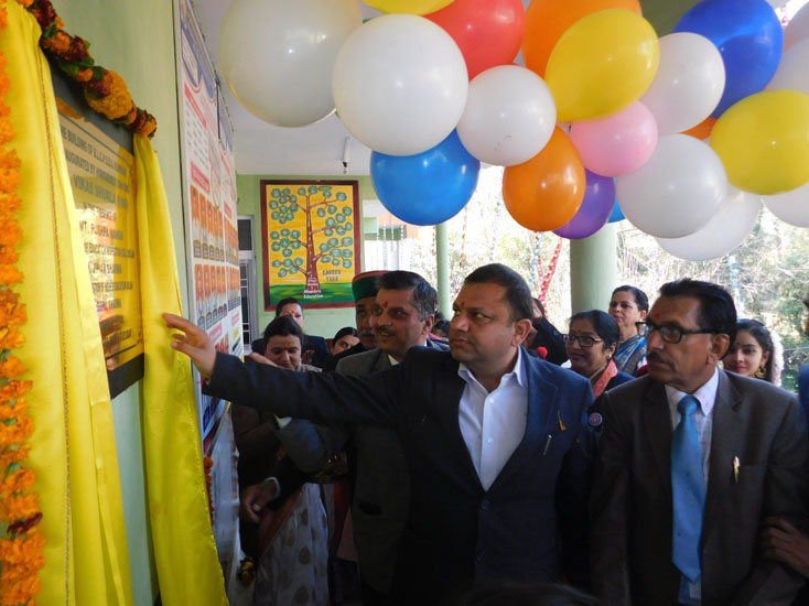 INAUGRATION OF SCHOOL NEW BUILDING BY SDM ARKI