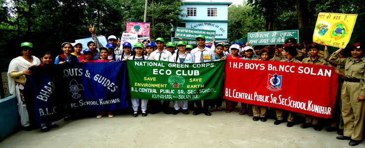NCC,NSS,-Lion-Eco-Club-Troops